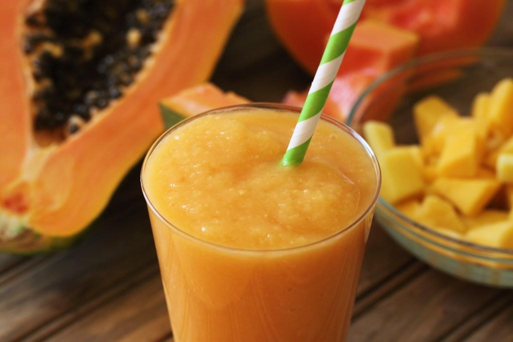 Tropical Papaya Smoothie