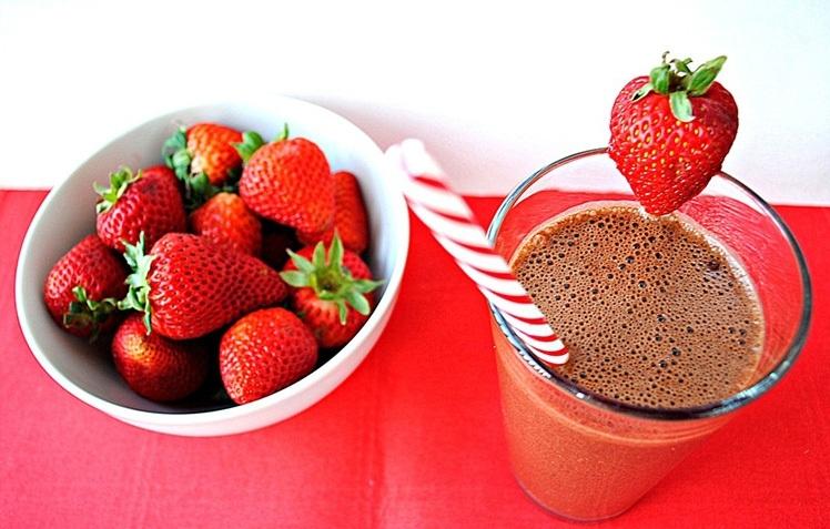 Chocolate Strawberry Shake