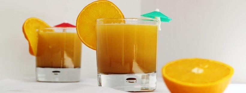 Orange & Pomegranate Mocktail