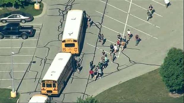 Two injured in US school shooting
