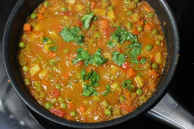 Mixed Vegetable Curry