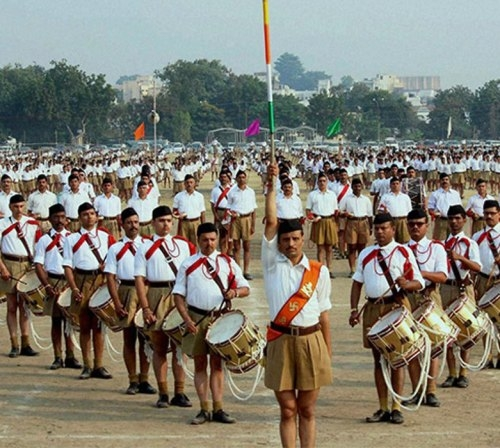Solid reply to leftist and Congress from RSS
