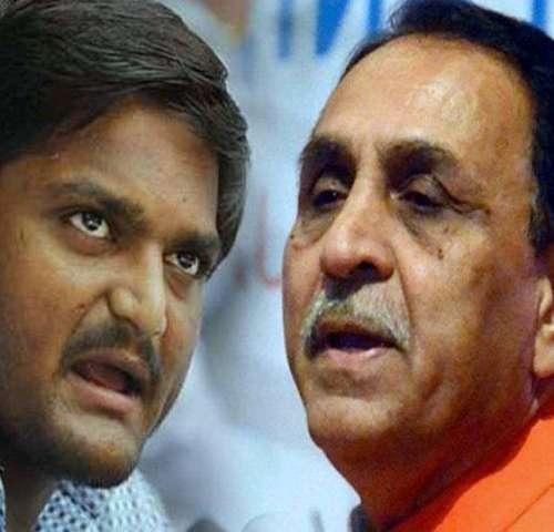 'War of words' between Hardik Patel and Vijay Rupani