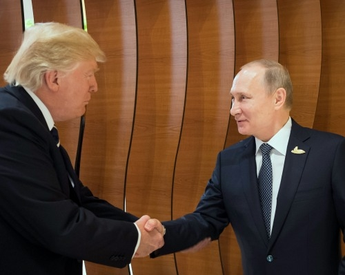Donald Trump wishes to meet Vladimir Putin