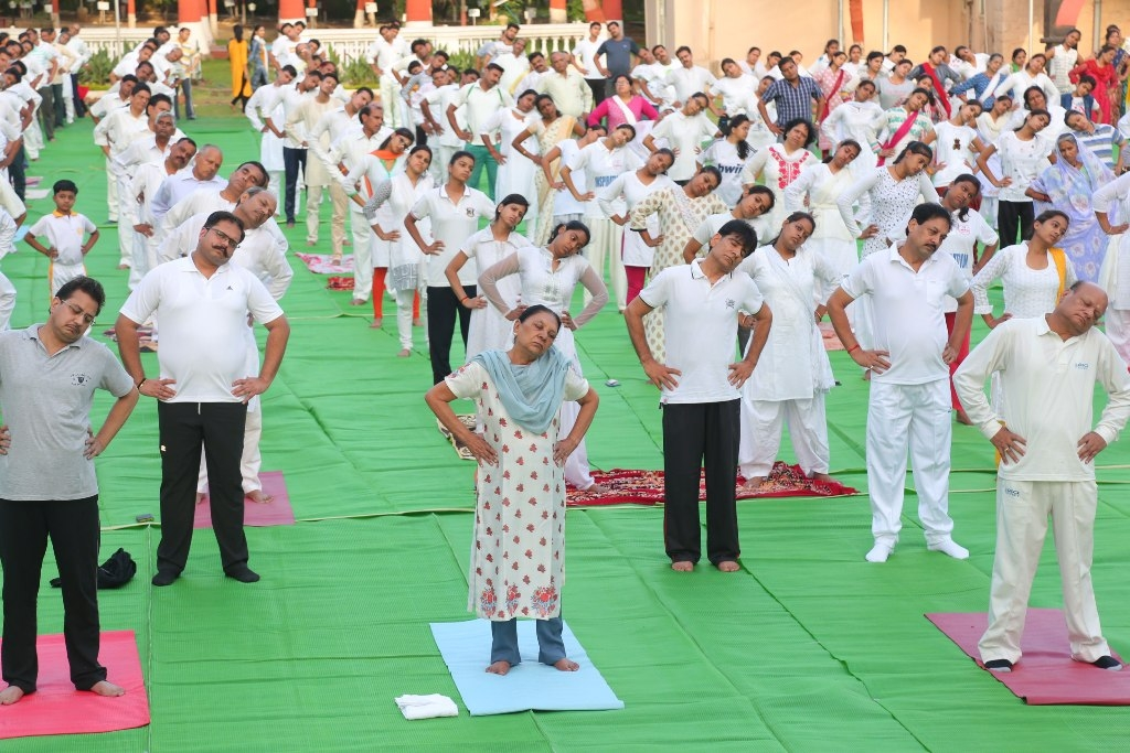 Yoga brings peace and strength to the mind – Governor Smt. Patel