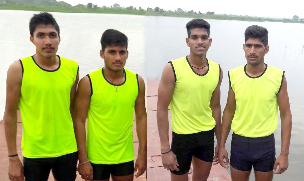 M.P. Water Sports Academy's 4 Players selected for Junior Asian Championship