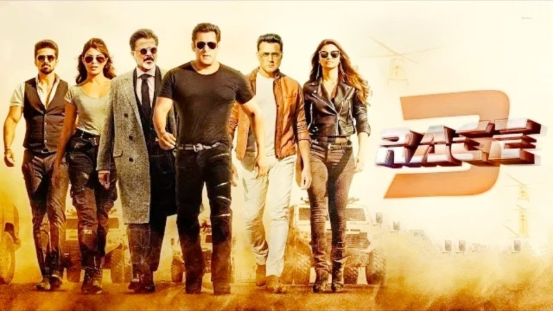 Race 3 moves towards Rs 200 crore mark worldwide