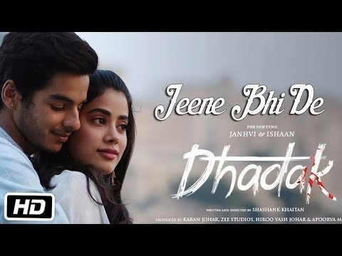 Dhadak title track released