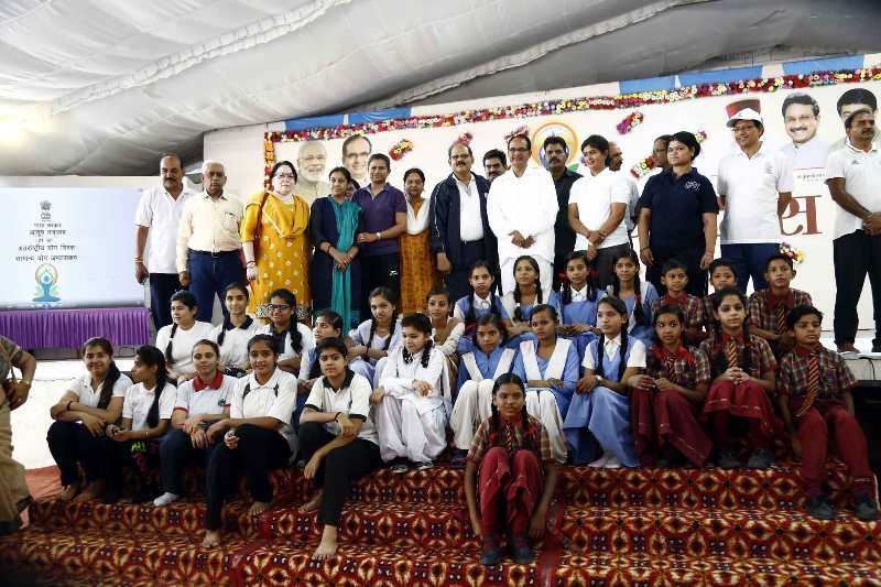 Yoga makes life meaningful – CM Chouhan