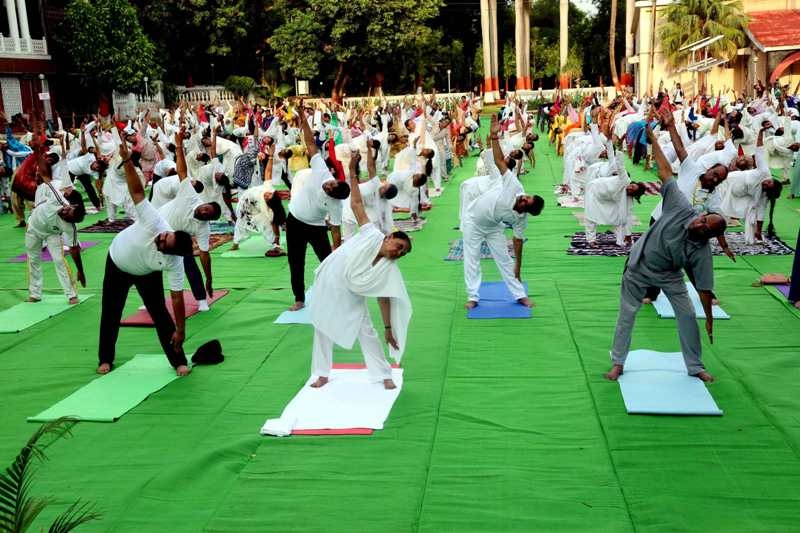 Practicing Yoga with faith and positivity is beneficial – Governor Smt. Patel