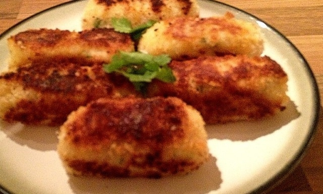 Parsnip and Chestnut Croquettes