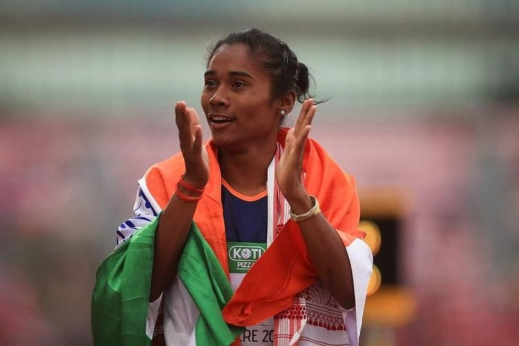 Ministers congratulate Hima Das on winning first gold medal in U-20 championship