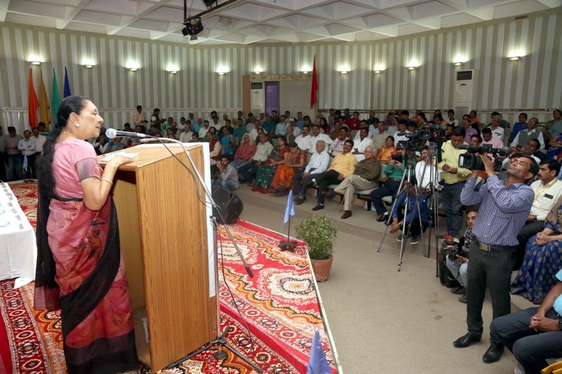 Tree plantation and water conservation need of the hour-Governor Smt. Patel