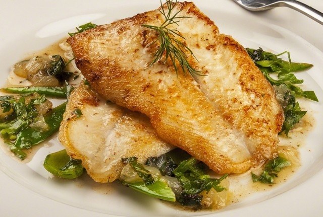 Lemon sole Florentine
