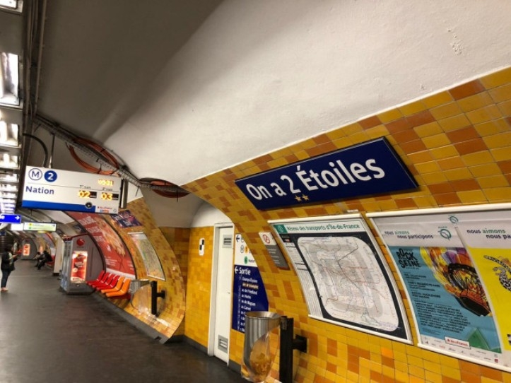 In France, Six Paris metro stations names changed to honor World Cup Champs