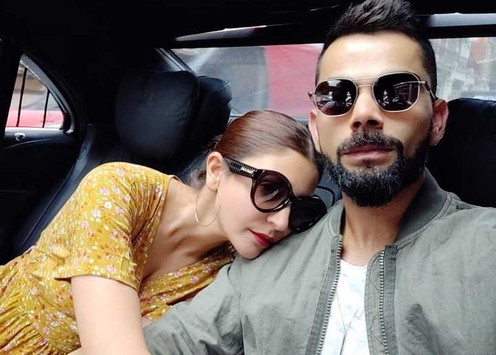 Virat Kohli and Anushka Sharma enjoying English weather before start of Test series