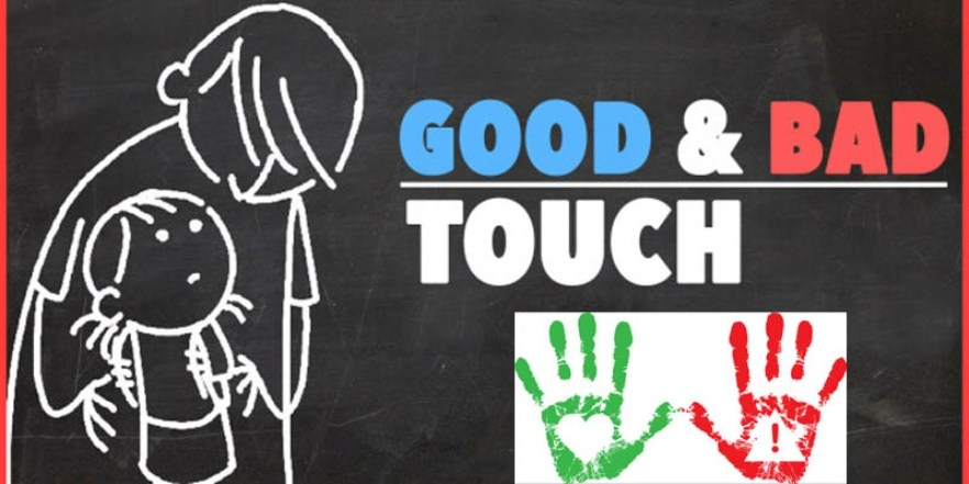 Good and bad touch:  Easy ways to tell your child