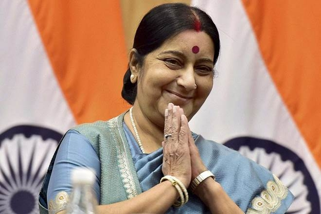 Why Sushma Swaraj have to consult with Volcano?