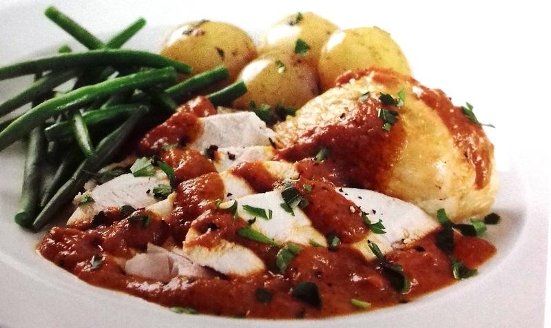 Provencal-style roast chicken