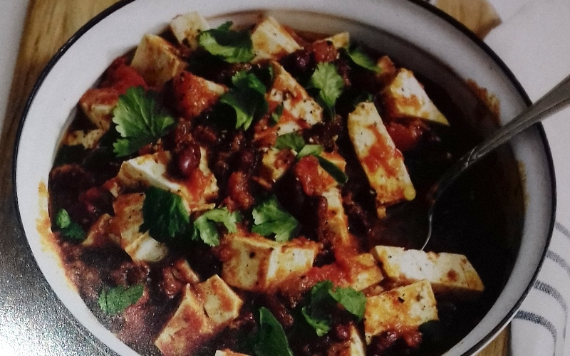 Mexican chilli with tofu