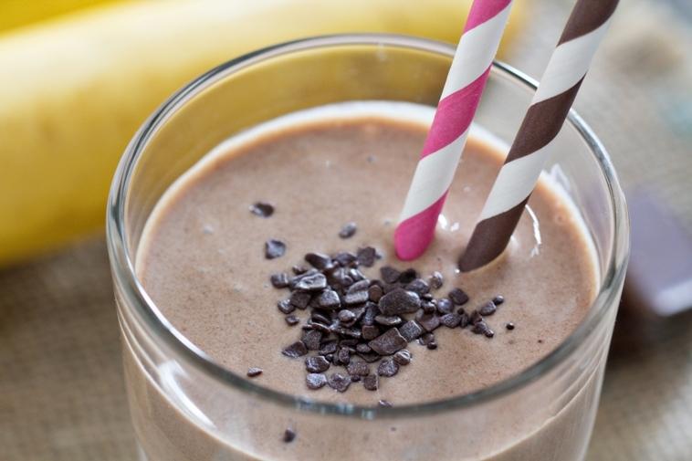 Protein rich 'Choco Peanut Butter Smoothie'
