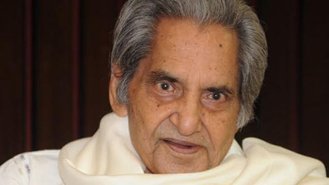 Late Gopal Das Neeraj the great poet