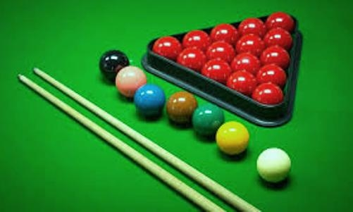 In the snooker game, every ball has a different point