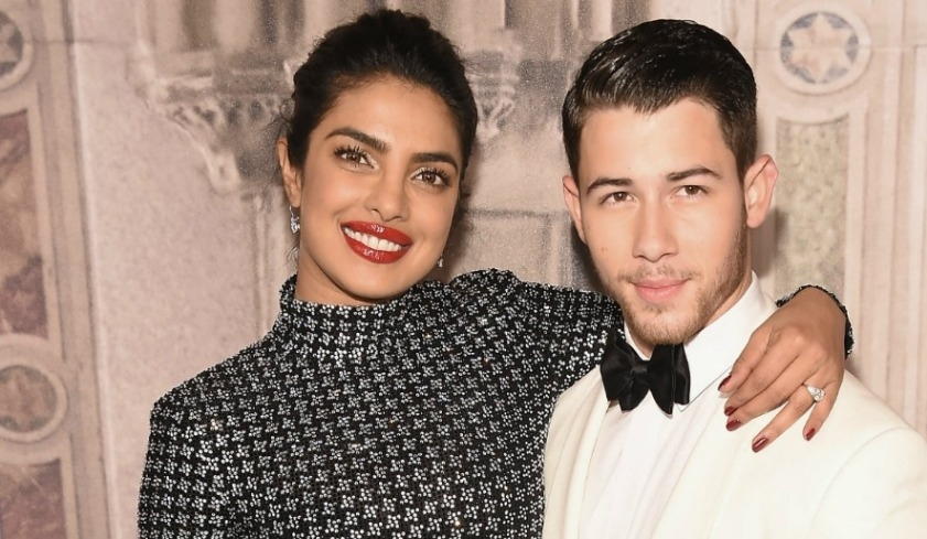 Priyanka Chopra kisses baby Nick Jonas on birthday