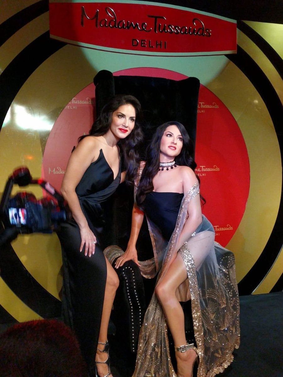 Sunny Leone unveiled her very own wax statue