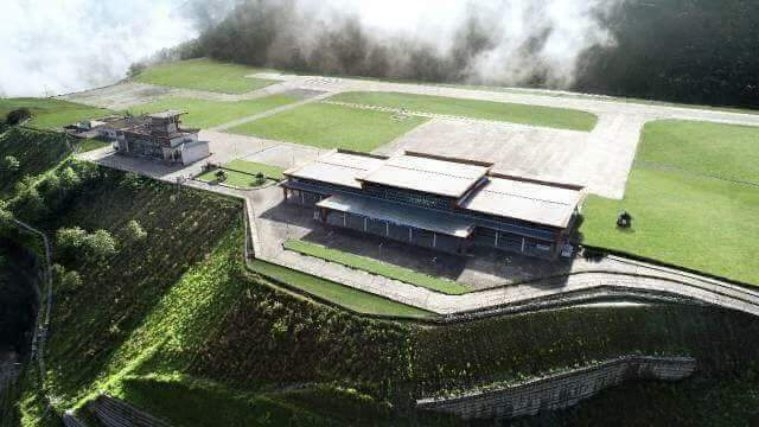 Sikkim gets its first airport - Nested in the Himalayas at 4500 ft