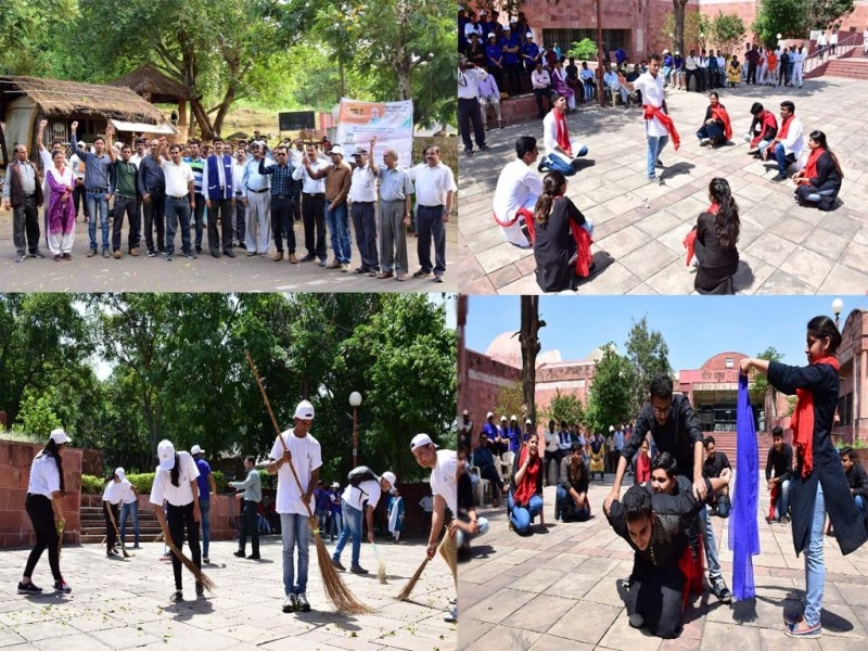 IGRMS organised a street play, film exhibition