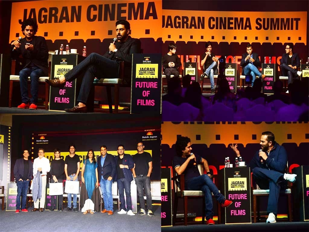 Abhishek Bachchan, Rohit Shetty, Ekta Kapoor, Nandita Das, Vikramaditya Motwane and many other cinema savants discussed and shared their views on the future of films at the Jagran Cinema Summit