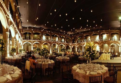 Historic Ex Convento halls catwalk for Mexico Fashion Week
