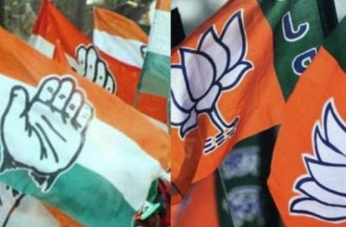 भाजपा और कांग्रेस के बीच है कड़ी टक्कर