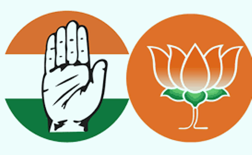 BJP gets 44.88 percent votes in the 2013 assembly elections