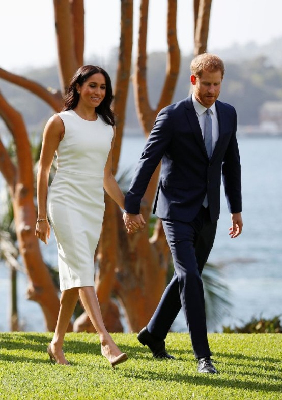 Meghan Markle wears Australian designer's dress