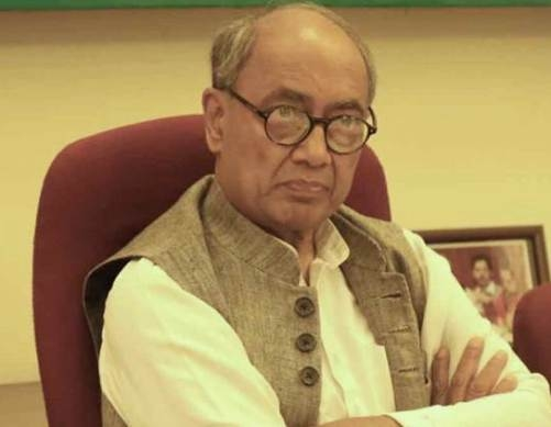 Digvijay Singh keeps away himself from campaigning in Madhya Pradesh!
