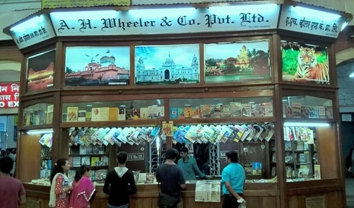 AH Wheeler book stalls to be closed off from Railway Station!