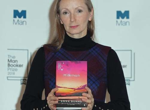 Anna Burns wins 50th Man Booker Prize for 'Milkman'