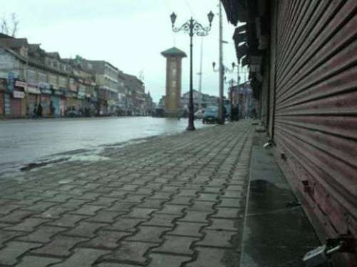 Separatist shutdown affects life in Kashmir Valley, heavy security deployed