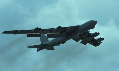 In a major action, US flies B-52 bombers near South China Sea