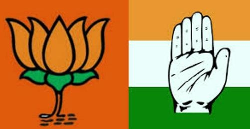 BJP gets 107 more seats than Congress in last assembly election