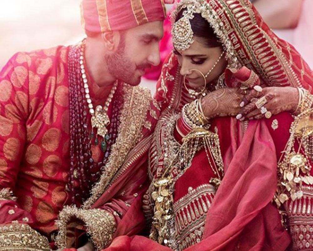 Ranveer Singh, Deepika Padukone debut as Mr & Mrs