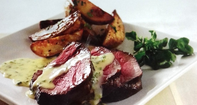 Chateaubriand with béarnaise sauce