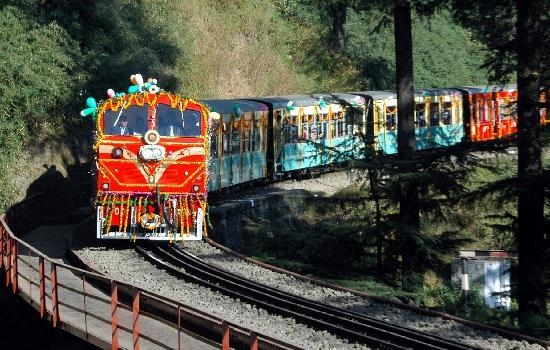 Selfie with past on Himachal's British-era Kalka-Shimla rail track