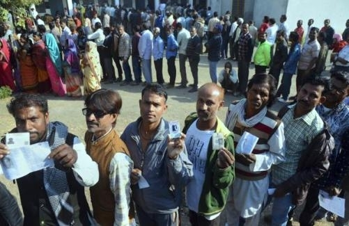 Record voting in Madhya Pradesh Assembly polls