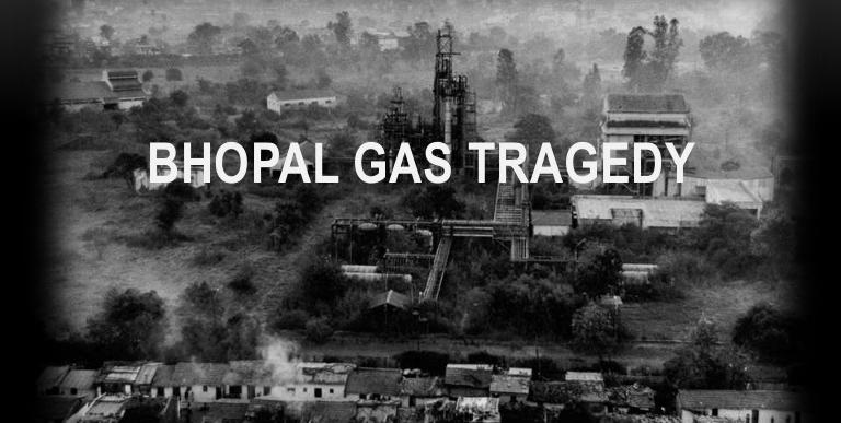 34th anniversary of Bhopal Gas Tragedy