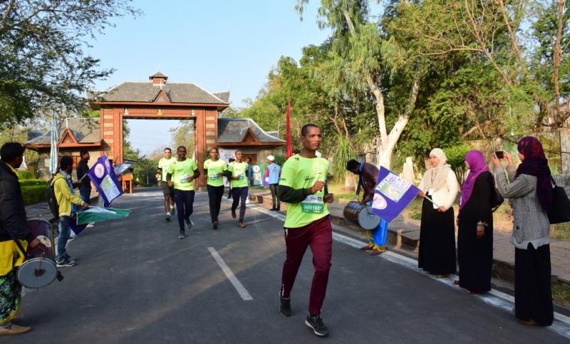 Run Bhopal run go through  Manav Sangrhalaya