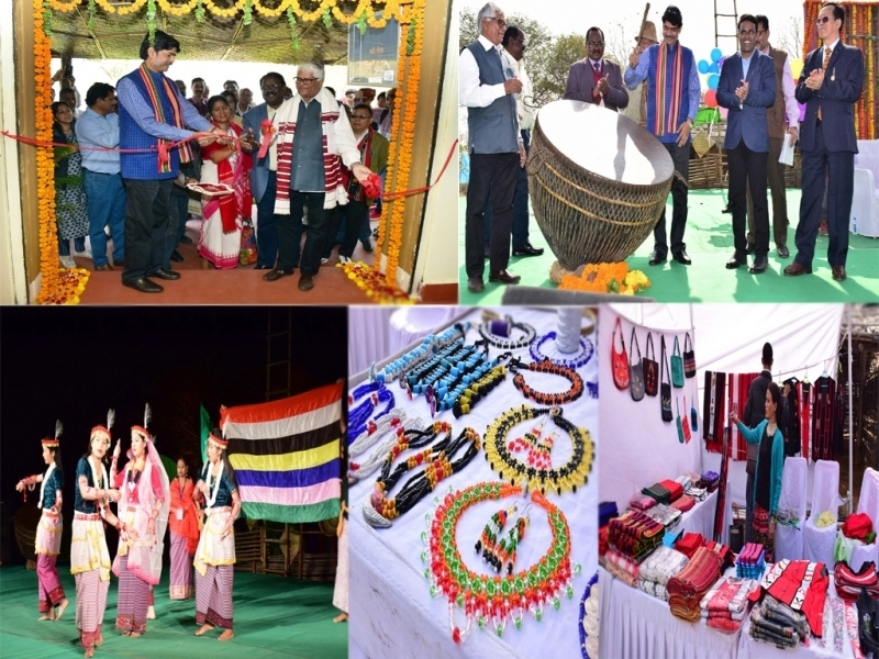 Tribal Cultural Festival 2018 has been inaugurated in IGRMS, Bhopal