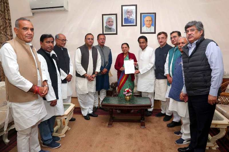 Governor invites Kamal Nath to take oath as Chief Minister